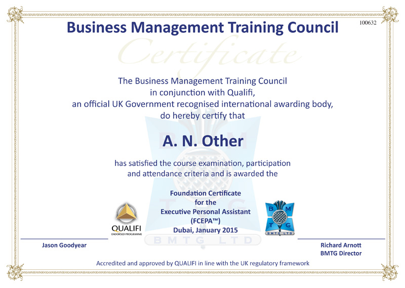 Bmtg Business Management Training Group Limited